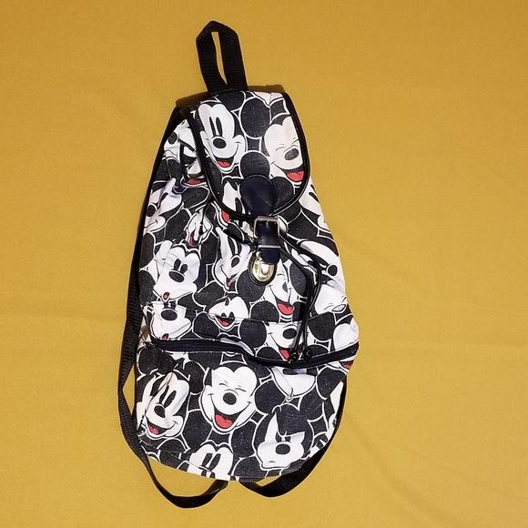 Disney Handbags - Disney Mickey Mouse Canvas Backpack 25b768a6922f4